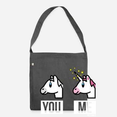 Officialbrands SmileyWorld You Me Licorne Cheval - Sac bandoulière 100 % recyclé