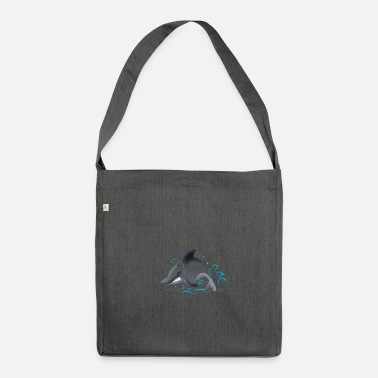 Zirkus ZIRKUS ZIRKUS ZIRKUS Delfin DELPHIN - Schultertasche aus Recycling-Material
