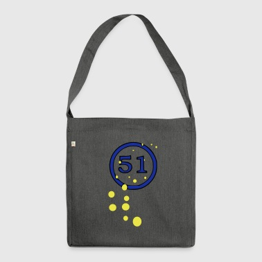 Reims Bubbles 51 - Shoulder Bag made from recycled material