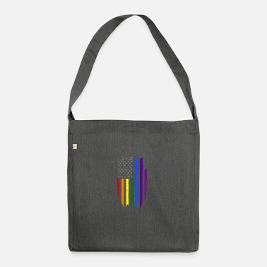 Us US Gay - Borsa in materiale riciclato