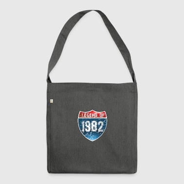 Legend Of 1982 - Shoulder Bag made from recycled material