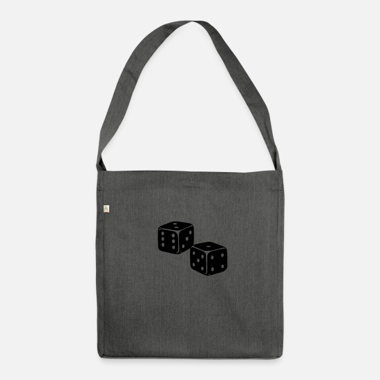 Las Vegas Bags & Backpacks - cube - Shoulder Bag recycled dark grey heather