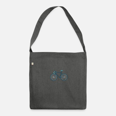 Cycling Cycling, cycling - Shoulder Bag recycled