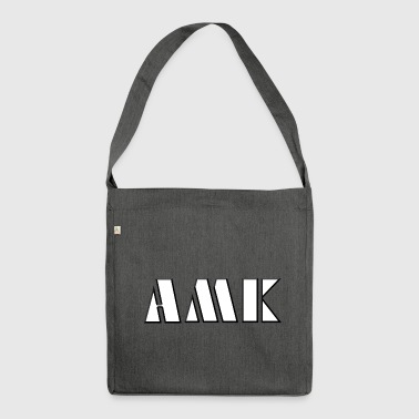 AMK - slang - youth language - Shoulder Bag made from recycled material