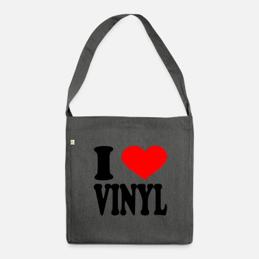 Vinyl I Love Vinyl - Borsa in materiale riciclato