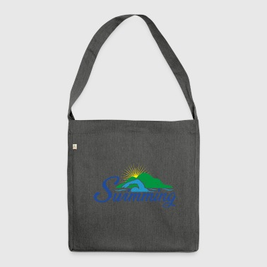 swim - Shoulder Bag made from recycled material