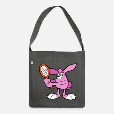 Bunny Funny Cute Cool Bunny Rabbit - Shoulder Bag made from recycled material