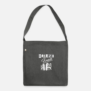 House House House House Music - Borsa in materiale riciclato