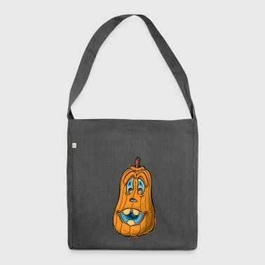 Pumpkin with pumpkin - Shoulder Bag made from recycled material