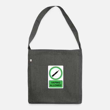 Vaping vaping - Borsa in materiale riciclato