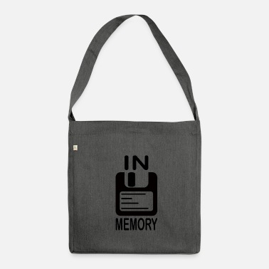 Memory In memory - Shoulder Bag made from recycled material