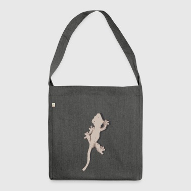 Crested gecko - Shoulder Bag made from recycled material