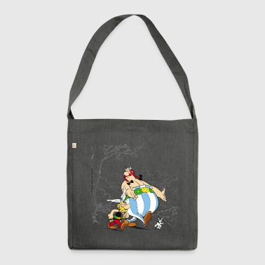 Asterix & Obelix Spaziergang Mit Idefix - Schultertasche aus Recycling-Material
