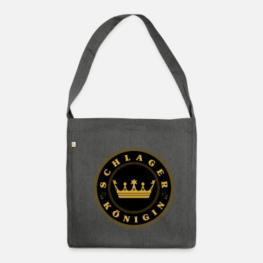 German Schlager Team Schlager queen Schlager queen Schlager fan - Shoulder Bag made from recycled material