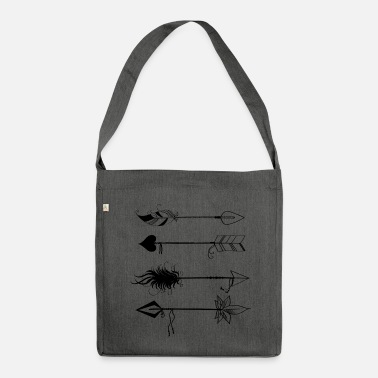 Arrows - Borsa in materiale riciclato