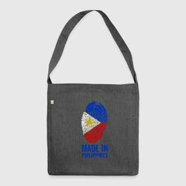 Made In Philippines / Philippinen / Pilipinas - Schultertasche aus Recycling-Material