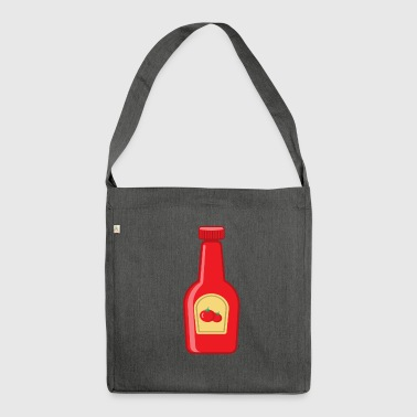 Ketchup bottle - Shoulder Bag made from recycled material