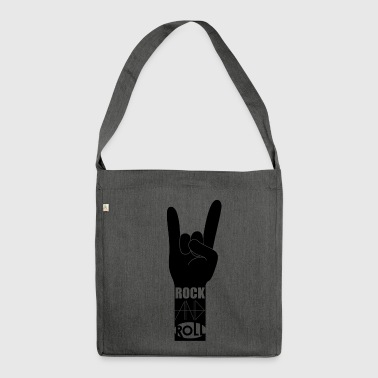Rock 'N' Roll - Schultertasche aus Recycling-Material