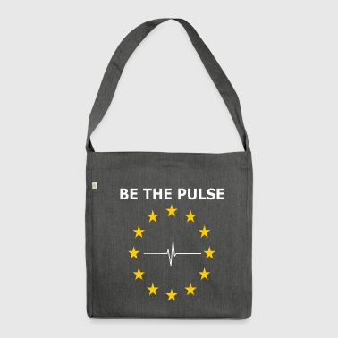 BE THE PULSE - Shoulder Bag made from recycled material