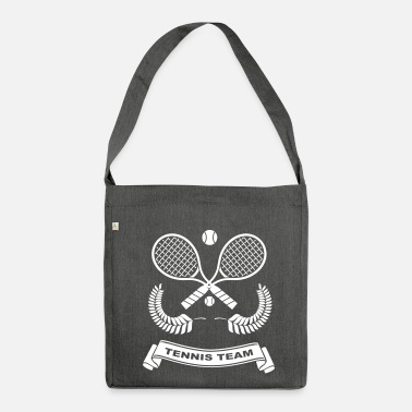 Tennis Ball Tennis-Team - Shoulder Bag made from recycled material
