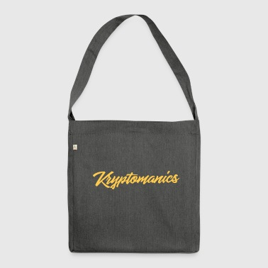 Kryptomanics All - Schultertasche aus Recycling-Material
