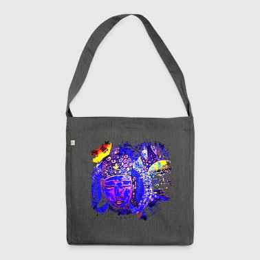 SH Namaste Buddha Variation 02 - Schultertasche aus Recycling-Material