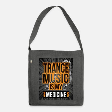 Trance Trance music gift gift idea - Shoulder Bag recycled