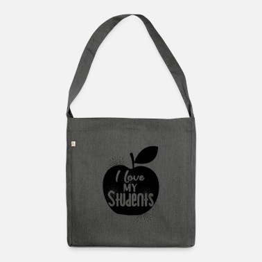 Teachers Teacher teacher teacher teacher - Shoulder Bag recycled