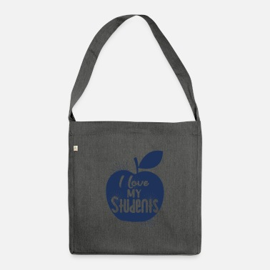 Teaching teaching - Shoulder Bag recycled