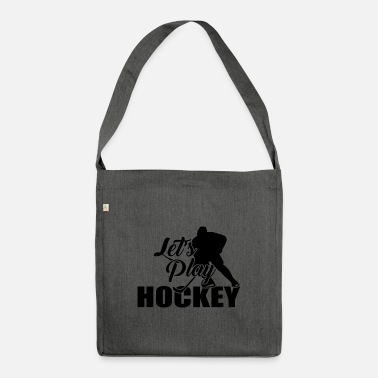 Hockey Hockey Hockey Hockey Hockey - Skuldertaske af recycling-material