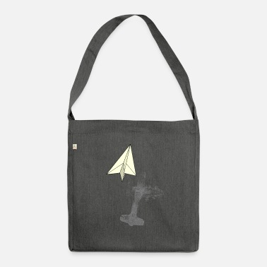 Paper Paper planes - inner values - Shoulder Bag recycled