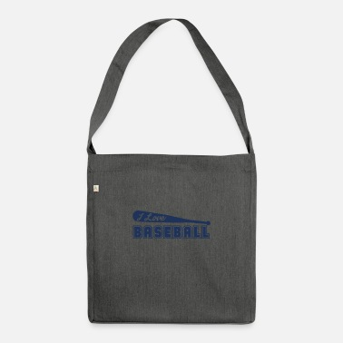 Baseball Baseball Baseball Baseball - Shoulder Bag recycled