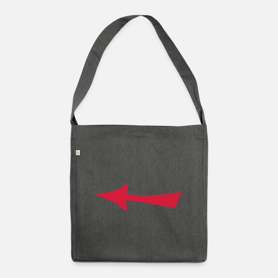 Arrow Bags & Backpacks - arrow - Shoulder Bag recycled dark grey heather