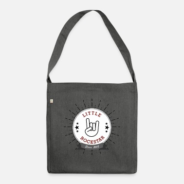 Little Rock Star french fries fork - Shoulder Bag recycled