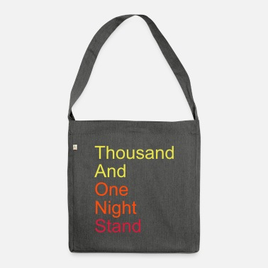 Bed thousand and one night stand 3colors - Shoulder Bag recycled