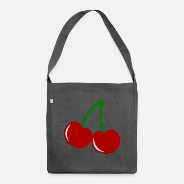 Ripe ripe cherry - Shoulder Bag recycled