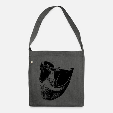 Bino92 Mask black - Shoulder Bag recycled