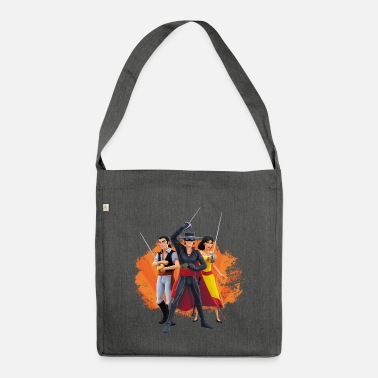 Zorro The Chronicles Ines Bernardo Don Diego - Bolsa de tela reciclado