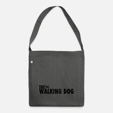 The Walking Dog - Borsa a tracolla riciclato
