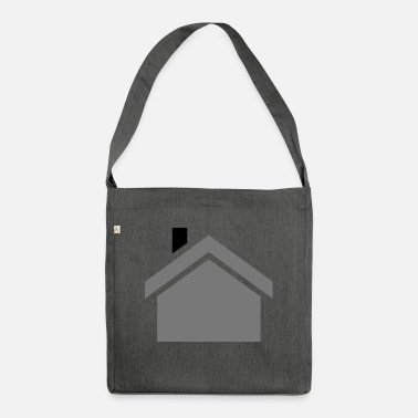 House house - Shoulder Bag recycled