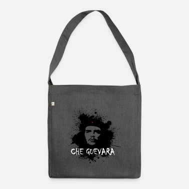 Che Guevara Splatter Women Longsleeve shirt - Shoulder Bag recycled