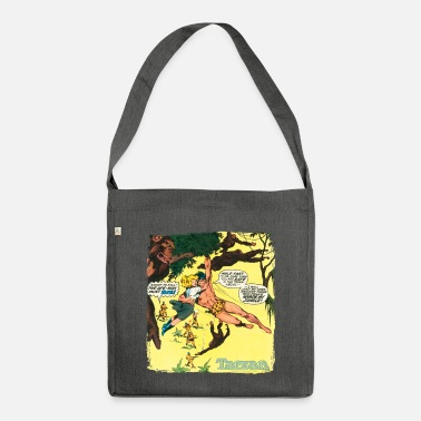Tarzan Jane Old Comic Cover - Shoulder Bag recycled