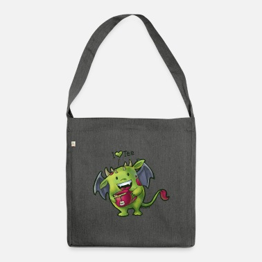 Tee Monster - Shoulder Bag recycled