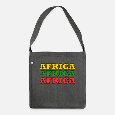 Africa Africa Africa Africa - Shoulder Bag recycled