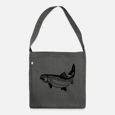 Trout trout - Shoulder Bag recycled