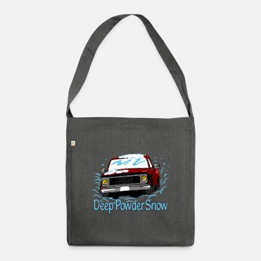Deep Snow Deep Powder Snow - Shoulder Bag recycled