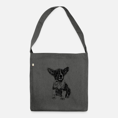 Jack Russell Jack Russell - Shoulder Bag recycled