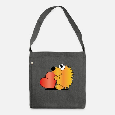 Hedgehog - Shoulder Bag recycled