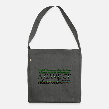 Charade Game of Charades 53 G - Shoulder Bag recycled