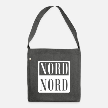 Nord Nord! Nord! - Umhängetasche aus Recyclingmaterial